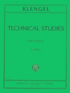Technical Studies for Cello Volume I by Julius Klengel